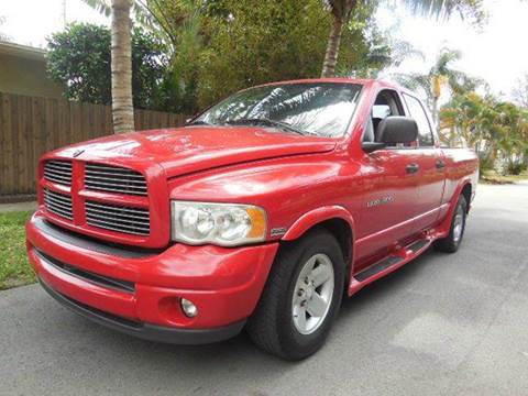 2002 Dodge Ram Pickup 1500 for sale at FINANCIAL CLAIMS & SERVICING INC in Hollywood FL