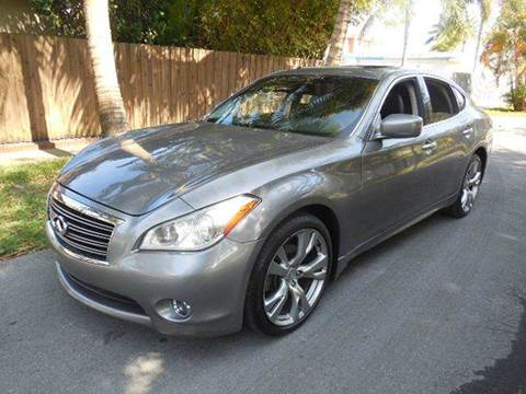 2012 Infiniti M37 for sale at FINANCIAL CLAIMS & SERVICING INC in Hollywood FL