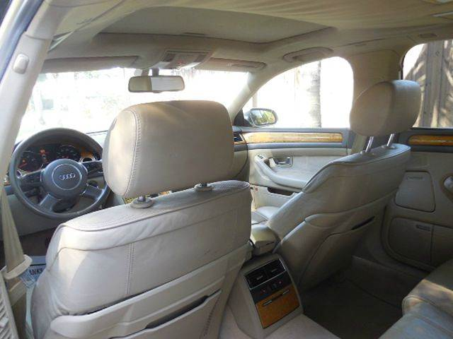 2004 Audi A8 L for sale at FINANCIAL CLAIMS & SERVICING INC in Hollywood FL