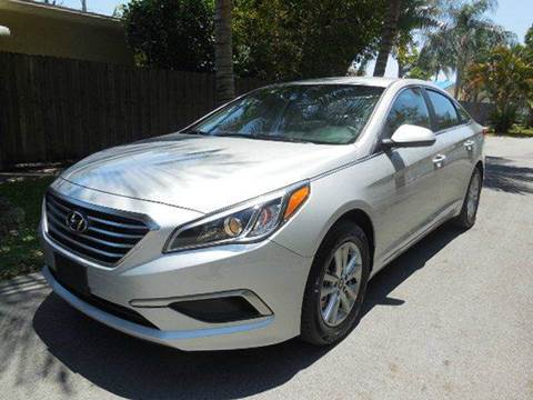 2017 Hyundai Sonata for sale at FINANCIAL CLAIMS & SERVICING INC in Hollywood FL