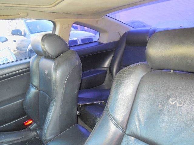 2003 Infiniti G35 for sale at FINANCIAL CLAIMS & SERVICING INC in Hollywood FL