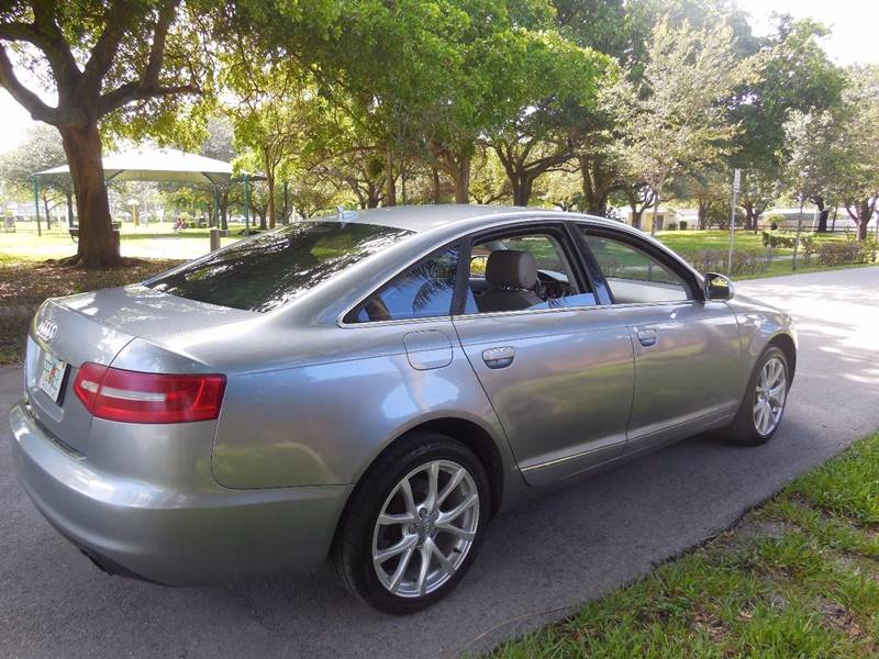 2010 Audi A6 for sale at FINANCIAL CLAIMS & SERVICING INC in Hollywood FL