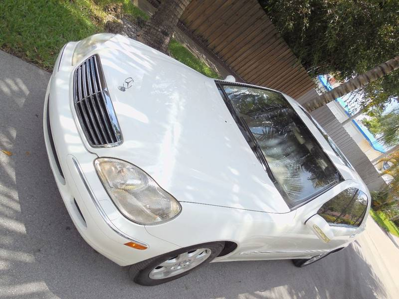 2002 Mercedes-Benz S-Class for sale at FINANCIAL CLAIMS & SERVICING INC in Hollywood FL