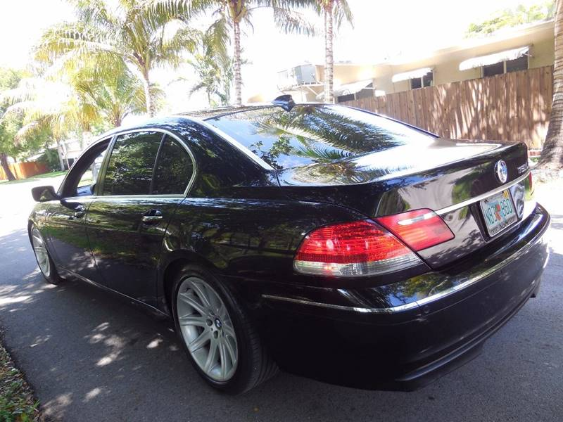 2006 BMW 7 Series for sale at FINANCIAL CLAIMS & SERVICING INC in Hollywood FL
