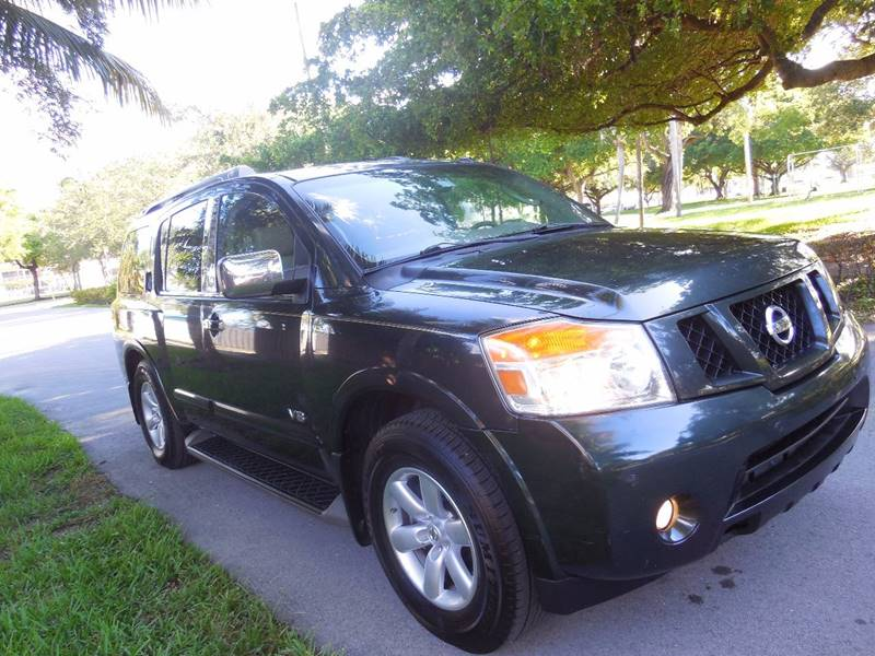 2008 Nissan Armada for sale at FINANCIAL CLAIMS & SERVICING INC in Hollywood FL