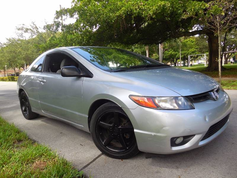 2007 Honda Civic for sale at FINANCIAL CLAIMS & SERVICING INC in Hollywood FL