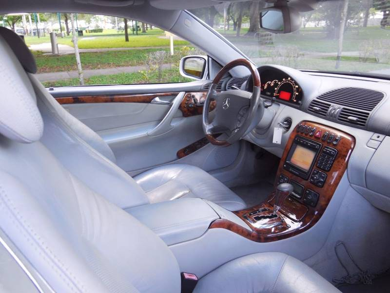 2002 Mercedes-Benz CL-Class for sale at FINANCIAL CLAIMS & SERVICING INC in Hollywood FL