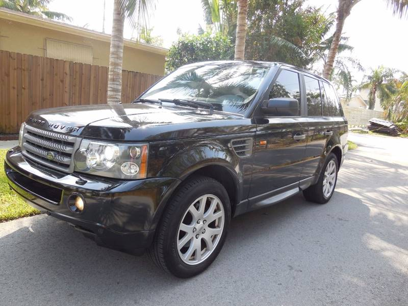 2007 Land Rover Range Rover Sport for sale at FINANCIAL CLAIMS & SERVICING INC in Hollywood FL