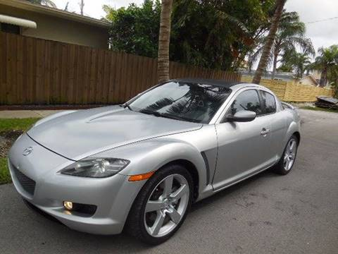 2007 Mazda RX-8 for sale at FINANCIAL CLAIMS & SERVICING INC in Hollywood FL