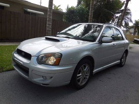2005 Subaru Impreza for sale at FINANCIAL CLAIMS & SERVICING INC in Hollywood FL