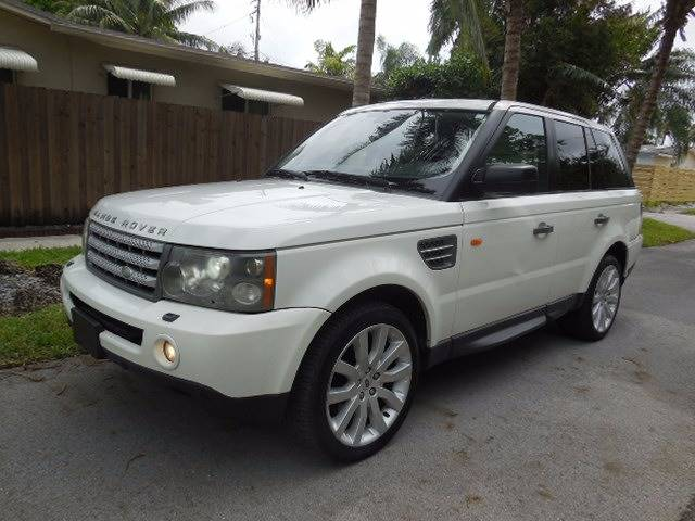2006 Land Rover Range Rover Sport for sale at FINANCIAL CLAIMS & SERVICING INC in Hollywood FL