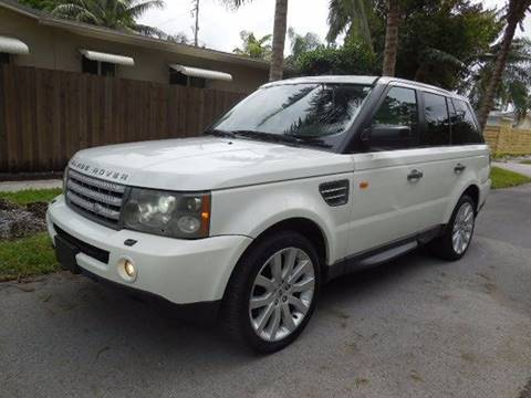 2006 Land Rover Range Rover Sport for sale in Hollywood, FL
