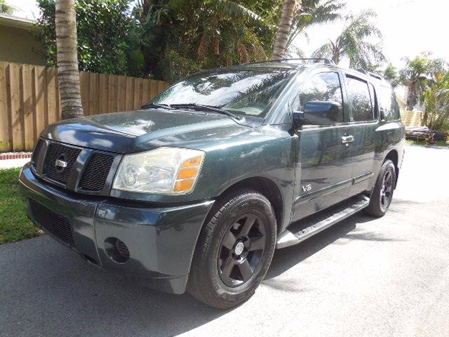 2005 Nissan Armada for sale at FINANCIAL CLAIMS & SERVICING INC in Hollywood FL