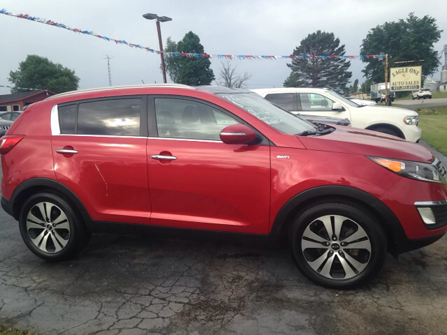 2012 Kia Sportage for sale at EAGLE ONE AUTO SALES in Leesburg OH