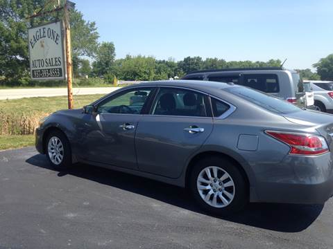 2015 Nissan Altima for sale at EAGLE ONE AUTO SALES in Leesburg OH