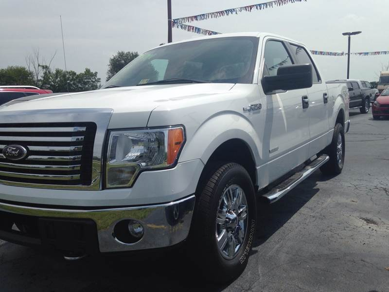 2012 Ford F-150 for sale at EAGLE ONE AUTO SALES in Leesburg OH