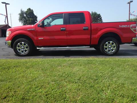 2013 Ford F-150 for sale at EAGLE ONE AUTO SALES in Leesburg OH