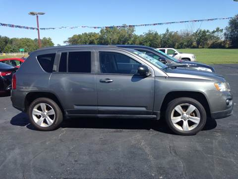 2012 Jeep Compass for sale at EAGLE ONE AUTO SALES in Leesburg OH