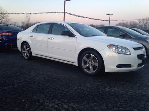2012 Chevrolet Malibu for sale at EAGLE ONE AUTO SALES in Leesburg OH