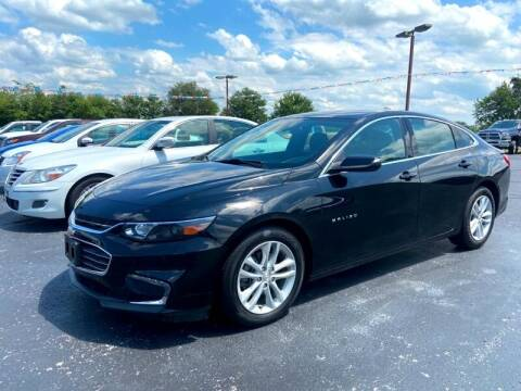 2018 Chevrolet Malibu for sale at EAGLE ONE AUTO SALES in Leesburg OH
