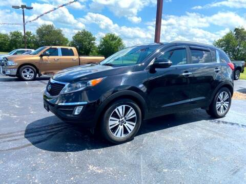 2014 Kia Sportage for sale at EAGLE ONE AUTO SALES in Leesburg OH