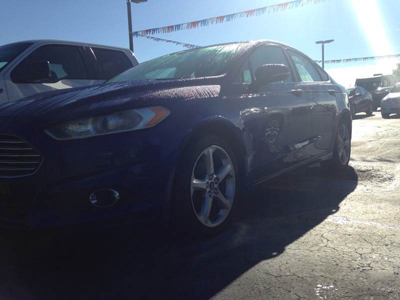 2016 Ford Fusion for sale at EAGLE ONE AUTO SALES in Leesburg OH