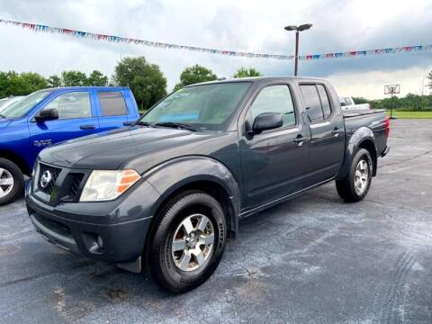 2010 Nissan Frontier for sale at EAGLE ONE AUTO SALES in Leesburg OH