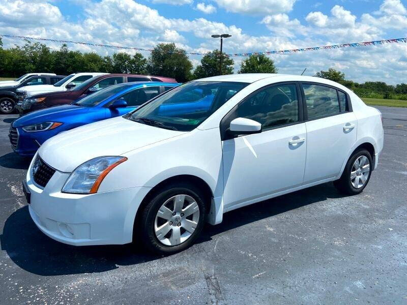 2008 Nissan Sentra for sale at EAGLE ONE AUTO SALES in Leesburg OH