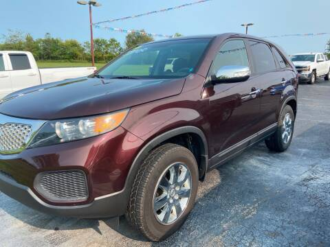 2013 Kia Sorento for sale at EAGLE ONE AUTO SALES in Leesburg OH