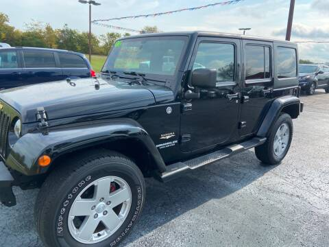 2012 Jeep Wrangler Unlimited for sale at EAGLE ONE AUTO SALES in Leesburg OH