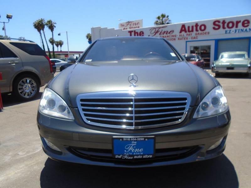 2007 Mercedes-Benz S-Class S 550 4dr Sedan - Imperial Beach CA