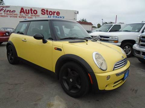 2005 MINI Cooper for sale at The Fine Auto Store in Imperial Beach CA
