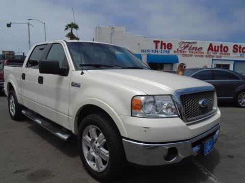 2008 Ford F-150 for sale at The Fine Auto Store in Imperial Beach CA