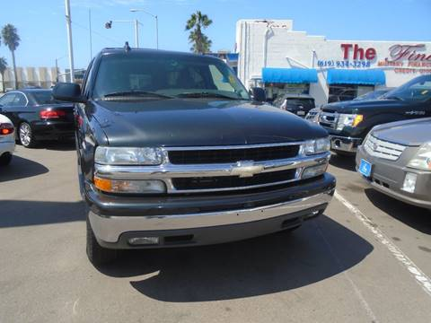 2003 Chevrolet Suburban for sale at The Fine Auto Store in Imperial Beach CA