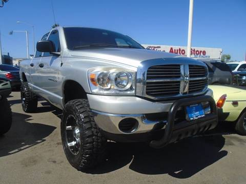 2007 Dodge Ram Pickup 1500 for sale at The Fine Auto Store in Imperial Beach CA