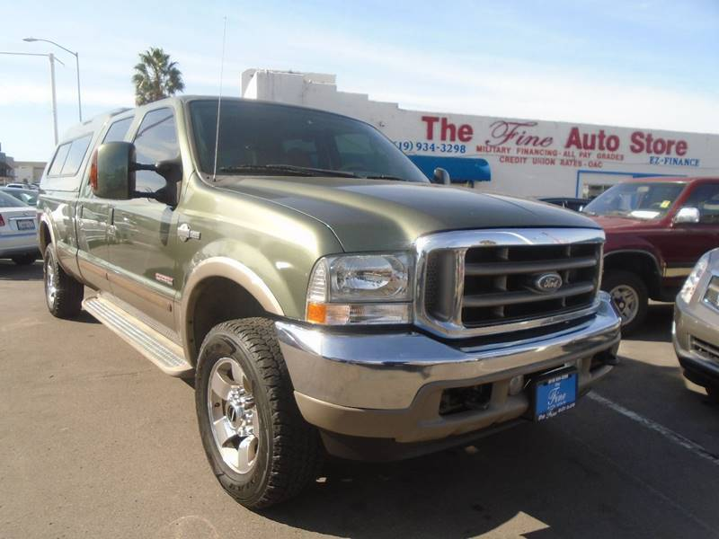 2004 Ford F-350 Super Duty for sale at The Fine Auto Store in Imperial Beach CA