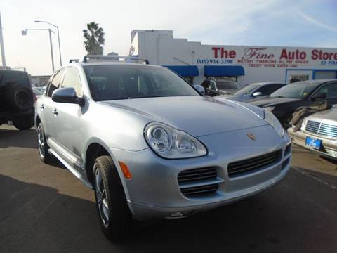 2006 Porsche Cayenne for sale at The Fine Auto Store in Imperial Beach CA