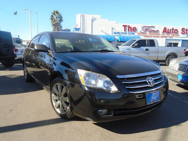 2007 Toyota Avalon for sale at The Fine Auto Store in Imperial Beach CA