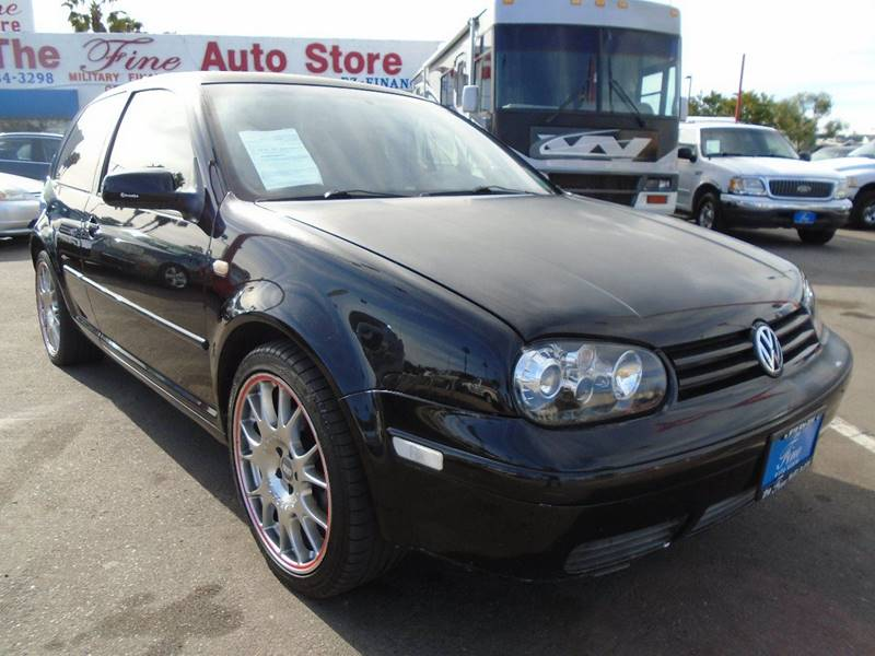 2001 Volkswagen GTI for sale at The Fine Auto Store in Imperial Beach CA