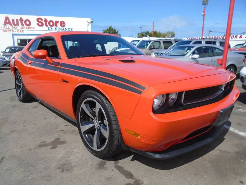 2013 Dodge Challenger for sale at The Fine Auto Store in Imperial Beach CA