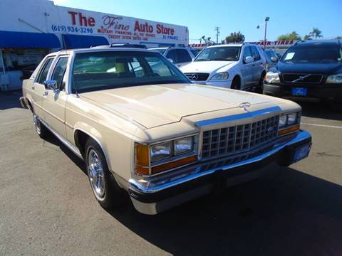 1987 Ford LTD Crown Victoria for sale in Imperial Beach, CA