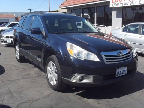 2012 Subaru Outback for sale in El Monte, CA