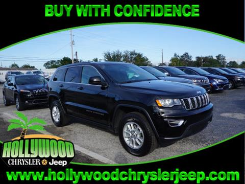 2018 Jeep Grand Cherokee for sale in Hollywood, FL