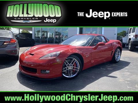 2008 Corvette For Sale >> 2008 Chevrolet Corvette For Sale In Hollywood Fl