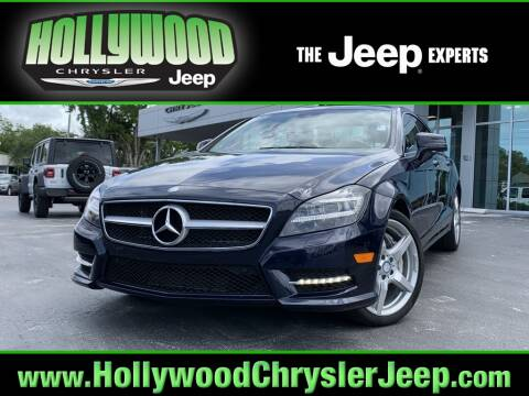 2014 Mercedes-Benz CLS CLS 550 for sale at HOLLYWOOD CHRYSLER JEEP in Hollywood FL