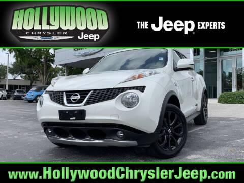 2014 Nissan JUKE SV for sale at HOLLYWOOD CHRYSLER JEEP in Hollywood FL