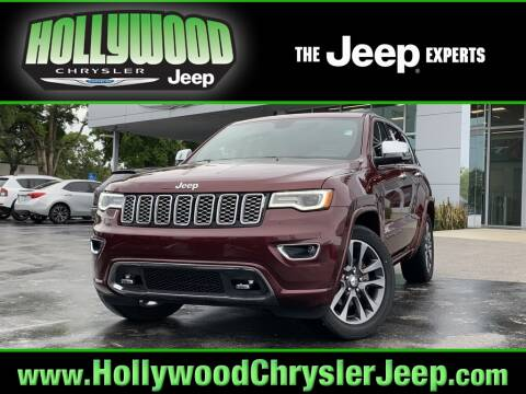 2017 Jeep Grand Cherokee Overland for sale at HOLLYWOOD CHRYSLER JEEP in Hollywood FL