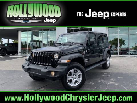2020 Jeep Wrangler Unlimited for sale at HOLLYWOOD CHRYSLER JEEP in Hollywood FL