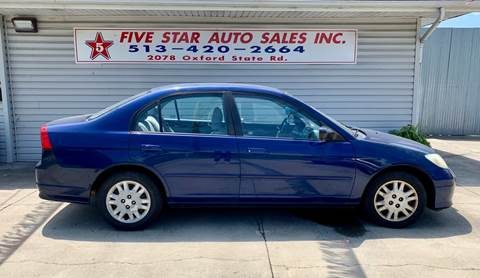 2004 Honda Civic for sale in Middletown, OH