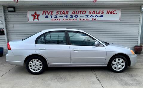 2001 Honda Civic for sale in Middletown, OH